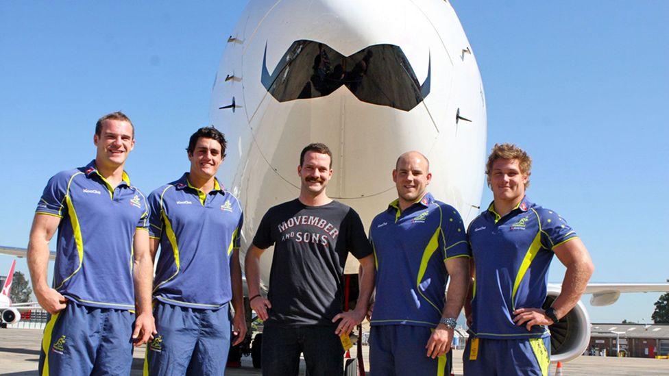 The Movember Foundation, founded in 2003 in Australia, promotes men's health all over the globe (Credit: Eva Rinaldi)