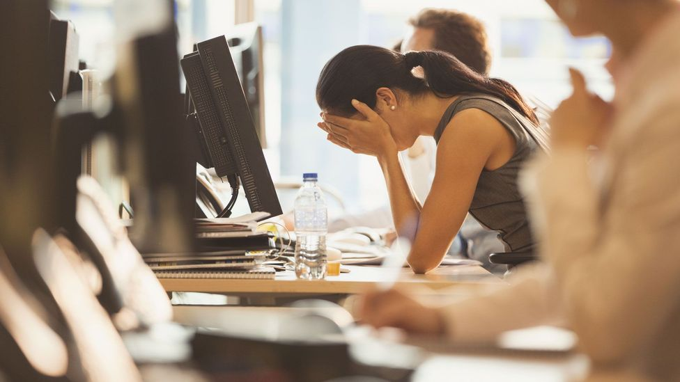 When stress becomes burnout (Credit: Getty Images)