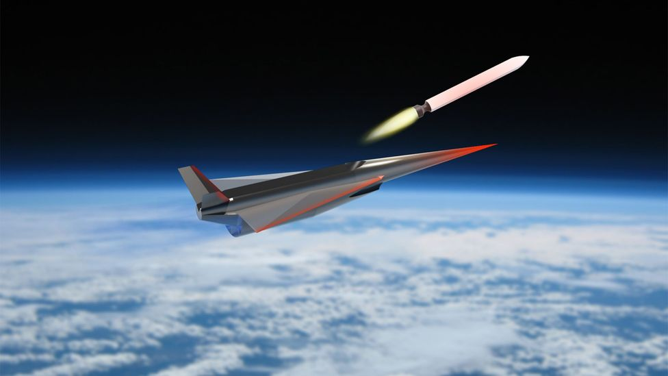 The scramjet will primarily be used to launch satellites, but it may also take tourists into space (Credit: University of Queensland)