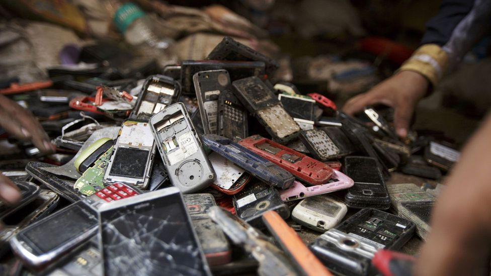 Harvesting electronic waste could boost local economies (Credit: Getty Images)
