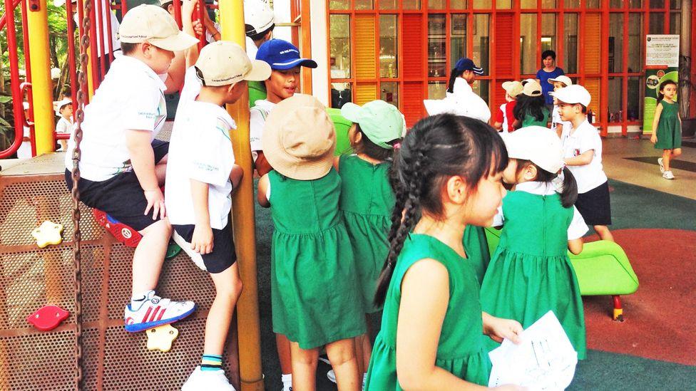 Pupils at Garden International School, Kuala Lumpur (Credit: Garden International School)
