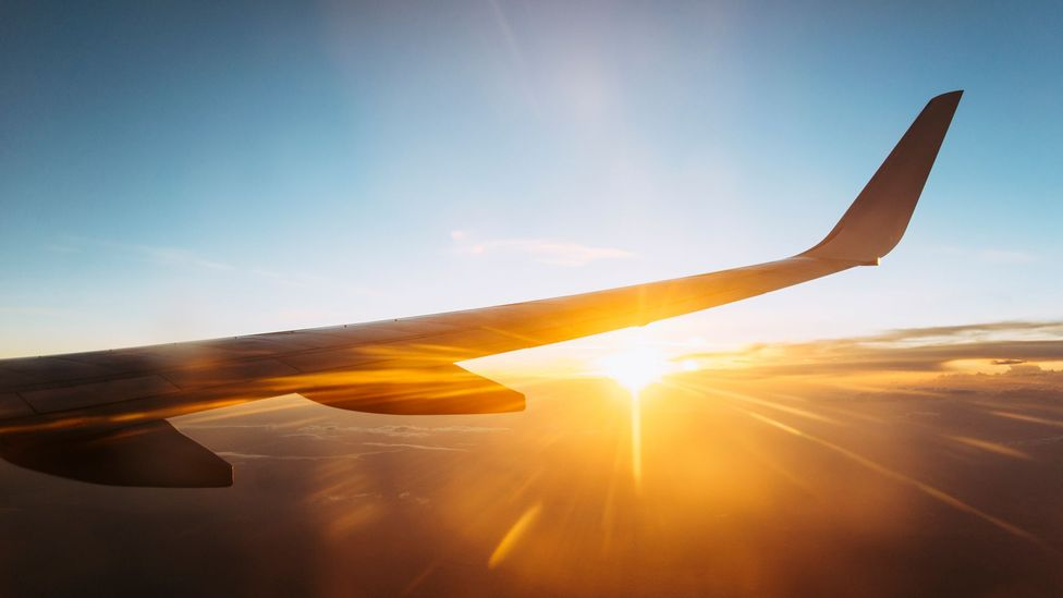 Virtual reality could be used to help people become used to the flying environment - meaning they don't panic when on board (Credit: iStock)