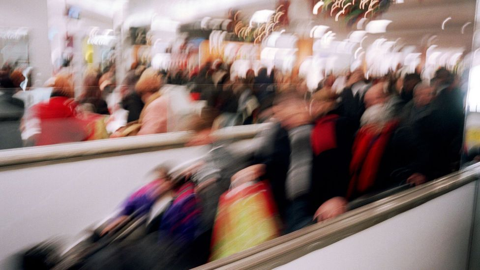 It's not the things we desire, but rather, it's the process of shopping we can become addicted to (Credit: Alamy)