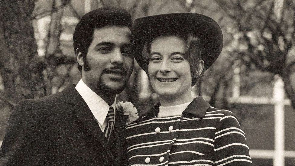 Carol and Chedly Mahfoudh in 1971: their story is like many others who forged a relationship despite linguistic and cultural hurdles (Credit: Carol and Chedly Mahfoudh)
