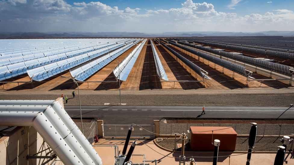 Africa's sunshine could eventually make the continent a supplier of energy to the rest of the world (Credit: Getty Images)