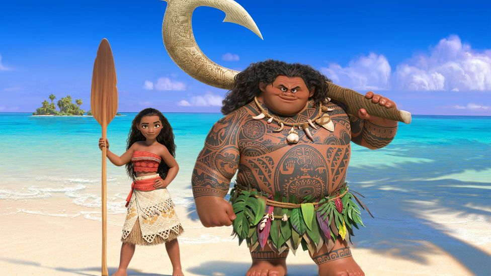 Moana is the latest film in what has been described as Disney's 'new golden age' (Credit: Walt Disney Studios)