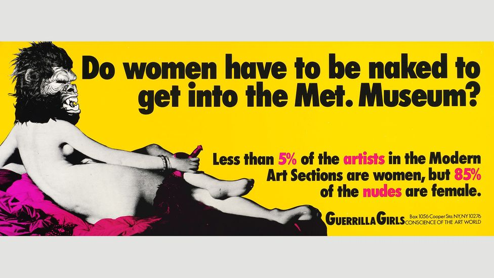 (Credit: Guerrilla Girls/Art Gallery of New South Wales)