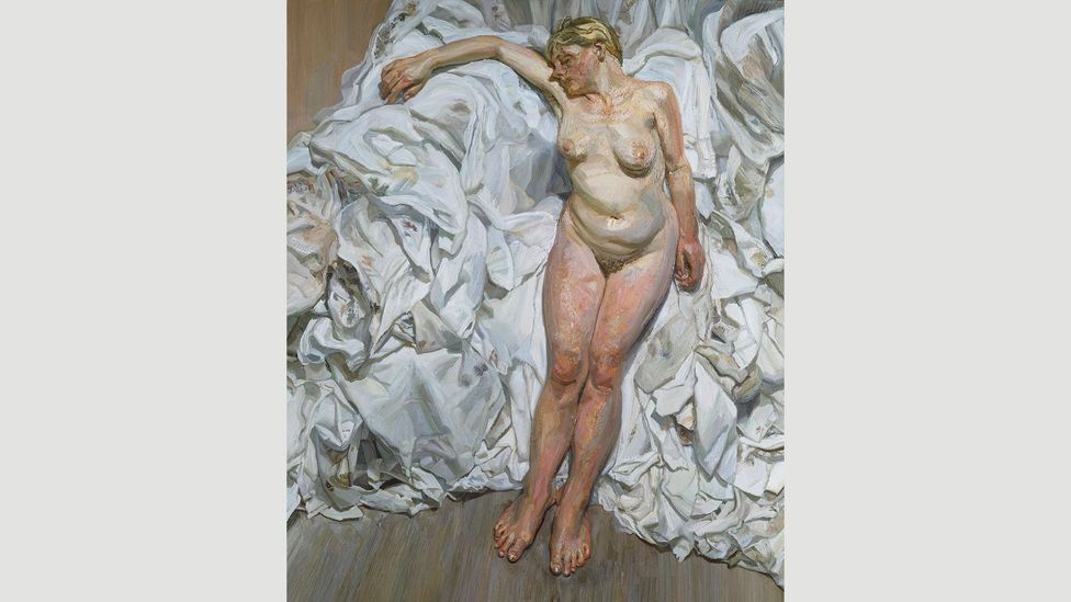 (Credit: Estate of Lucian Freud/Tate/Art Gallery of New South Wales)