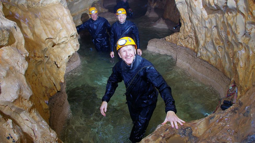 Astronauts like Tim Peake already train in caves before their space missions (Credit: Science Photo Library)