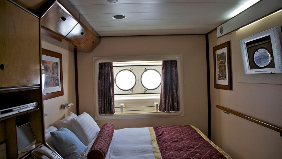 People who spend months on ships can book larger staterooms. (Credit: Getty Images)