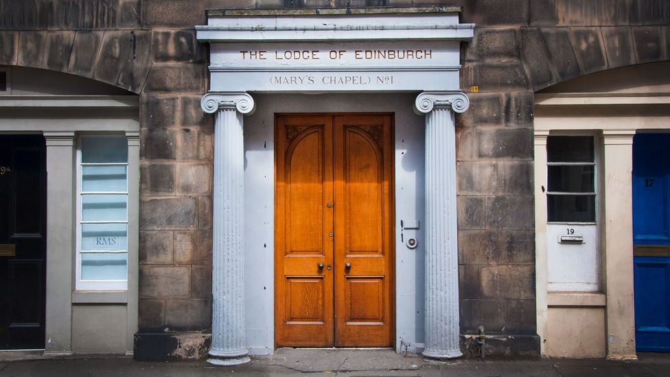 Mary's Chapel may only be open to fellow Freemasons, but its location is anything but a secret (Credit: Amanda Ruggeri)
