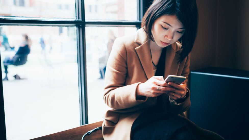 Those who suffer from telephobia might send dozens of text messages a day, but get shivers when they need to talk on the phone (Credit: Getty Images)
