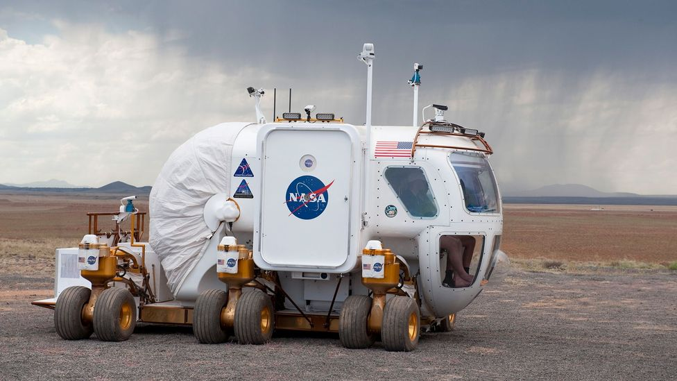 The vehicle can act as an emergency shelter for up to 14 days (Credit: Nasa)