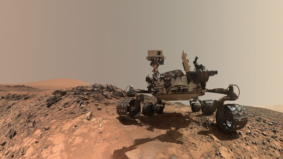 The Space Exploration Vehicle will follow in the footsteps of the Curiosity rover (Credit: Nasa/JPL)