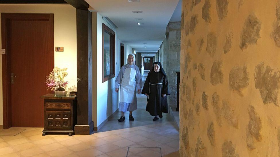 22 sisters live in the Convent of Hermanas Clarisas (Credit: Margarita Gokun Silver)