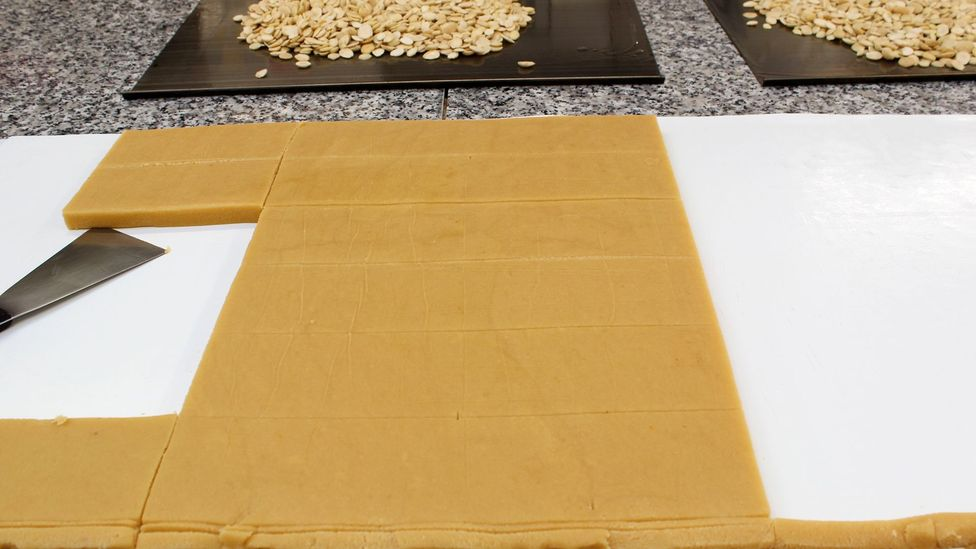 Turrón is typically made from honey, sugar and nuts (Credit: Margarita Gokun Silver)