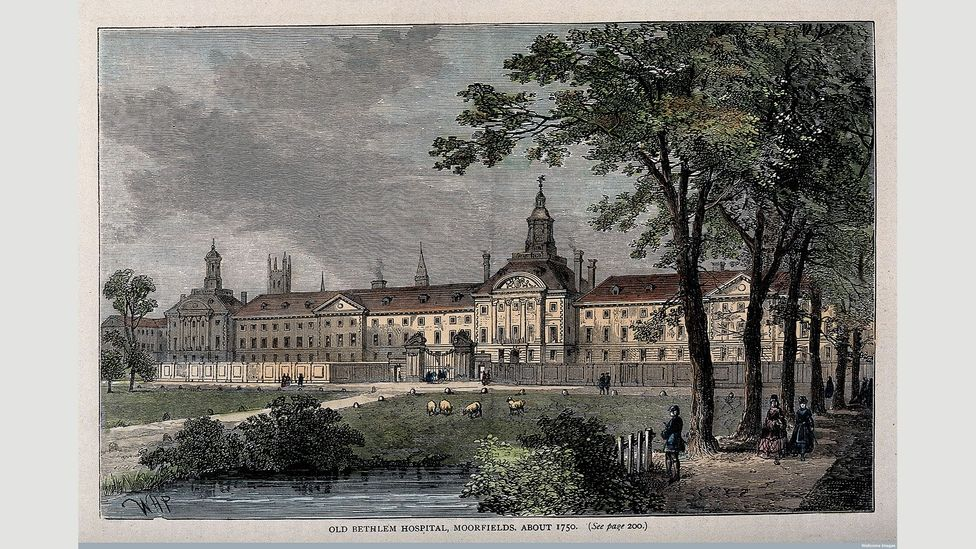 Bethlem became known as a 'palace for lunatics' (Credit: Wellcome Library, London)
