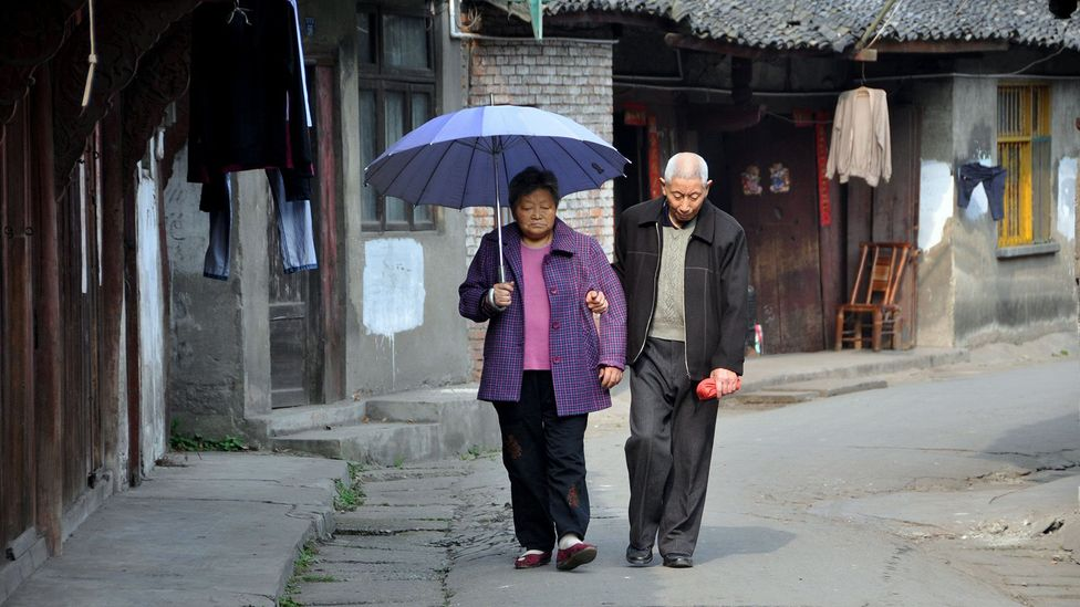 By 2030, it's estimated a quarter China's population will be aged over 60, posing a demographic challenge for the country (Credit: Alamy)