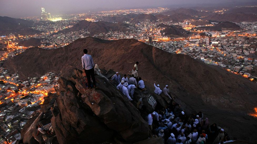 A sense of location is also critical to many religious practices - meaning that those beliefs could be bound to life on our planet (Credit: Getty Images)