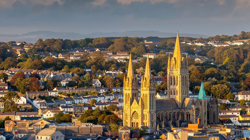Truro was a new diocese of the Church of England in 1880 when its bishop Edward White Benson invented the carol service, which was held in the city's cathedral (Credit: Alamy)