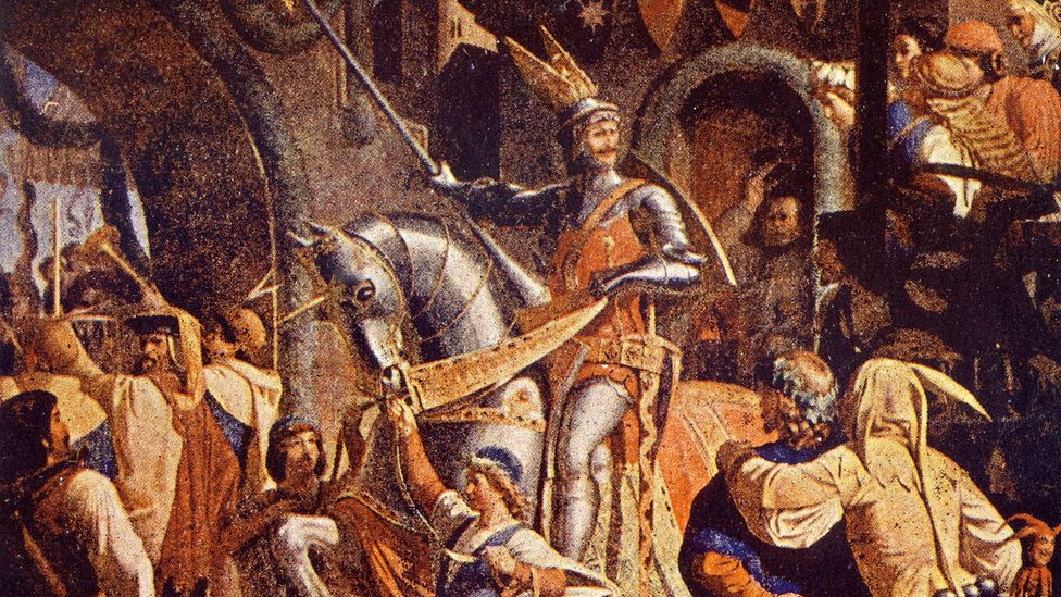 The words of the carol Good King Wenceslas are based on the life of a Vaclav, a 10th Century Duke of Bohemia (Credit: Alamy)