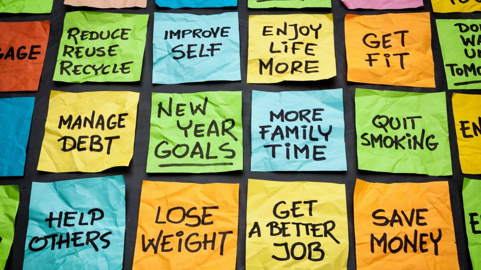 If you're serious about sticking to a goal in the New Year, start as soon as you can (Credit: Alamy)