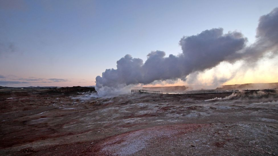 Geothermal power is one of the big untapped clean energy resources in the world (Credit: Chris Baraniuk)