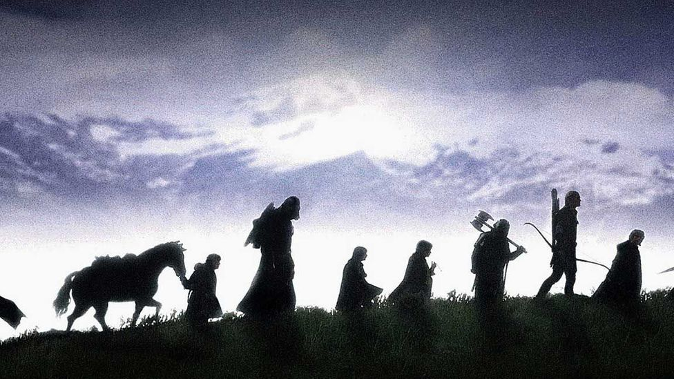 Tolkien's conception of evil in Middle Earth was informed by the horrors of the trenches (Credit: New Line Cinema)