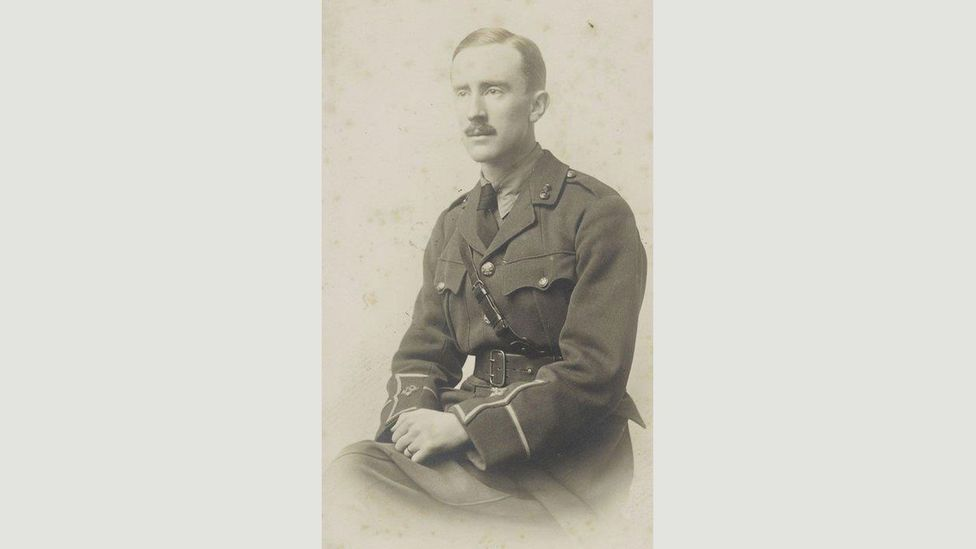 Tolkien had fought in the Battle of the Somme during World War One (Credit: The Tolkien Trust)