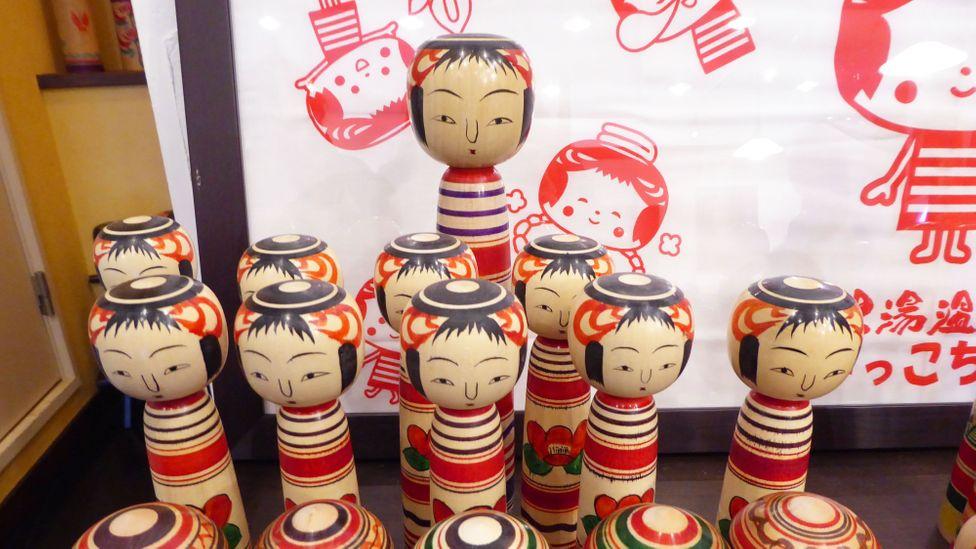 It is said that Nintendo's Mii avatars are based off the kokeshi dolls (Credit: Selena Hoy)
