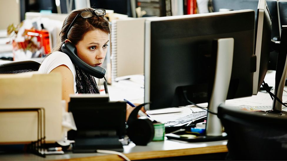 Speech analysis can even be used to gauge employee stress levels (Credit: Getty Images)