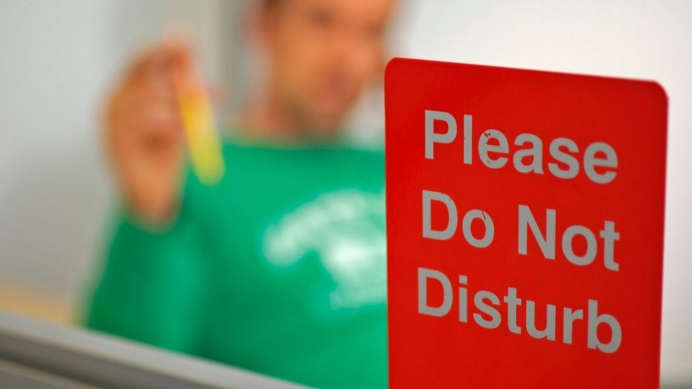 Nearly 50% of people working in open offices are dissatisfied with their sound privacy (Credit: Getty Images)
