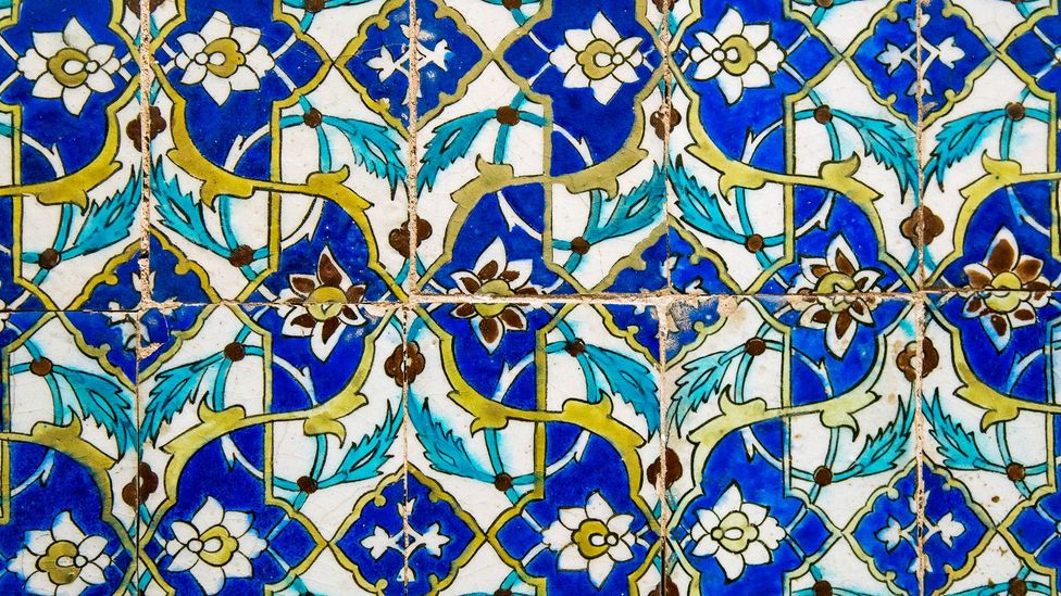 Persian tiles (Credit: Getty images)