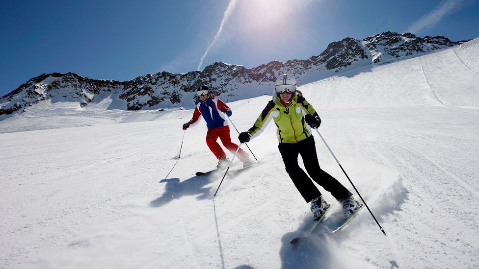 Starting new hobbies is a sure-fire way to meet new people – for Mark Richard Adams, skiing helped him develop a network (Credit: Getty Images)