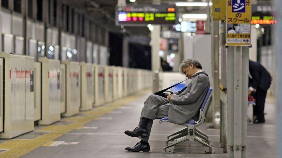 Nearly one in four Japanese companies have some employees who work more than 80 hours of overtime per month (Credit: Getty Images)