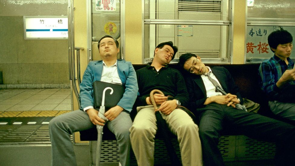 "Marathon workdays are so entrenched in Japanese culture that there's even a word, karoshi, that quite literally means ""overwork death"" (Credit: Alamy)"