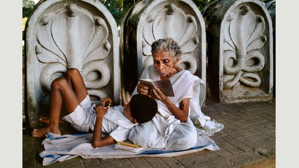 Sri Lanka, 1995 (Credit: Steve McCurry/Magnum Photos)