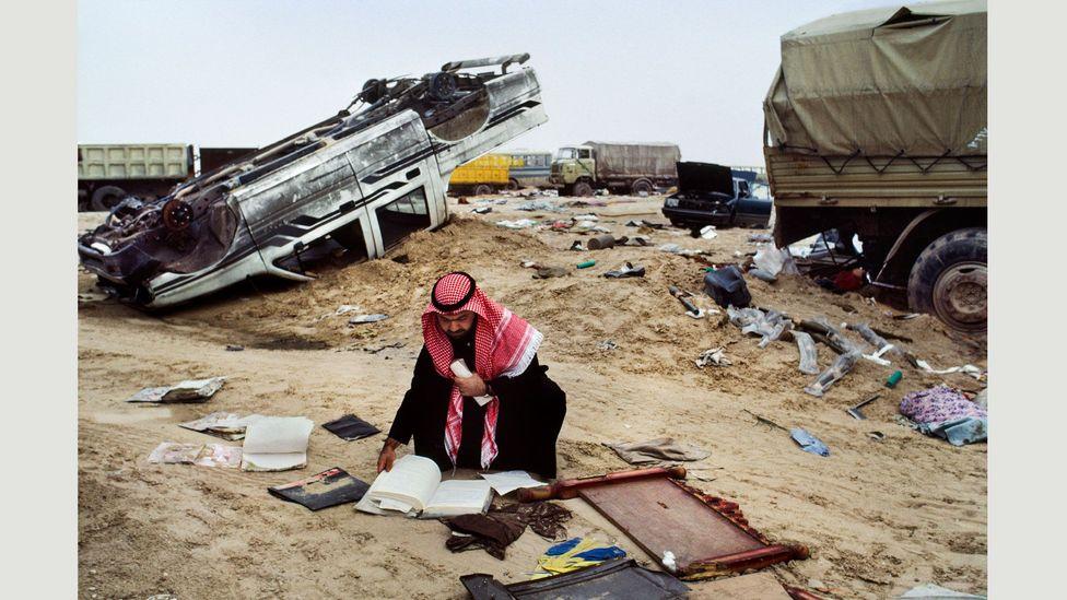 Kuwait, 1991 (Credit: Steve McCurry/Magnum Photos)