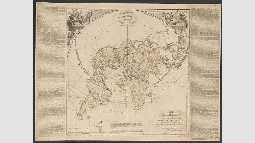 A complete tour round the world, 1770, Thomas Jefferys Sr (Credit: The British Library)