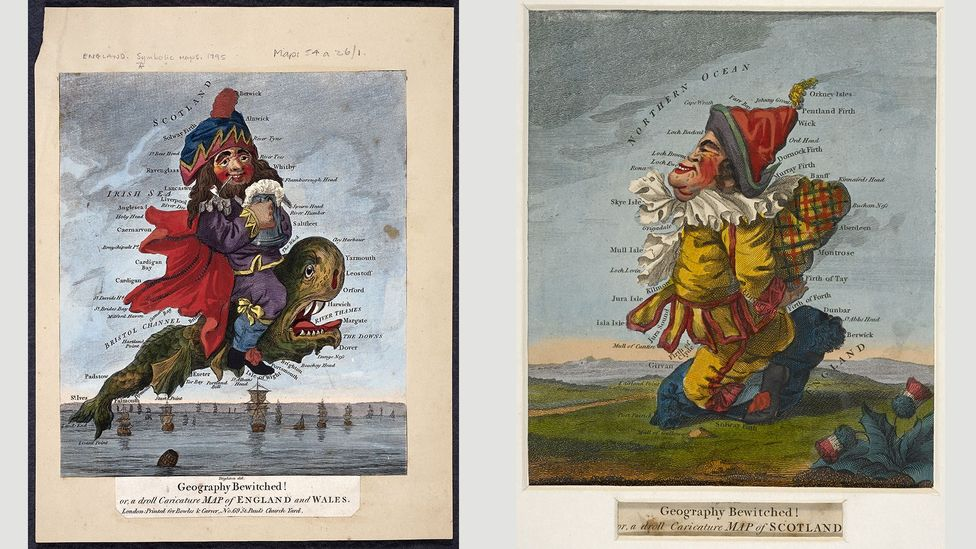 Geography bewitched!, 1793, Robert Dighton (Credit: The British Library)