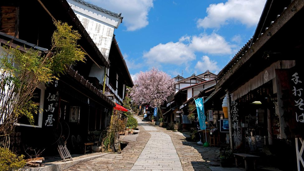 """The """"Post Town"""" of Magome was a popular stop in the 17th Century (Credit: JTB MEDIA CREATION, Inc./Alamy)"""