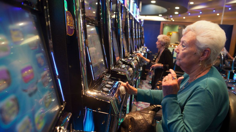 Slot machines that monitor people's behaviour can detect when they are acting obsessively and may be in need of help (Credit: Getty Images)