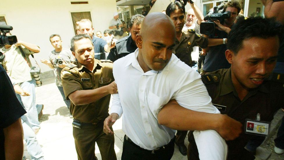 Myurun Sukumaran was arrested as part of the Bali 9 drug ring in 2005 – he was convicted and sentenced to death (Credit: Alamy)