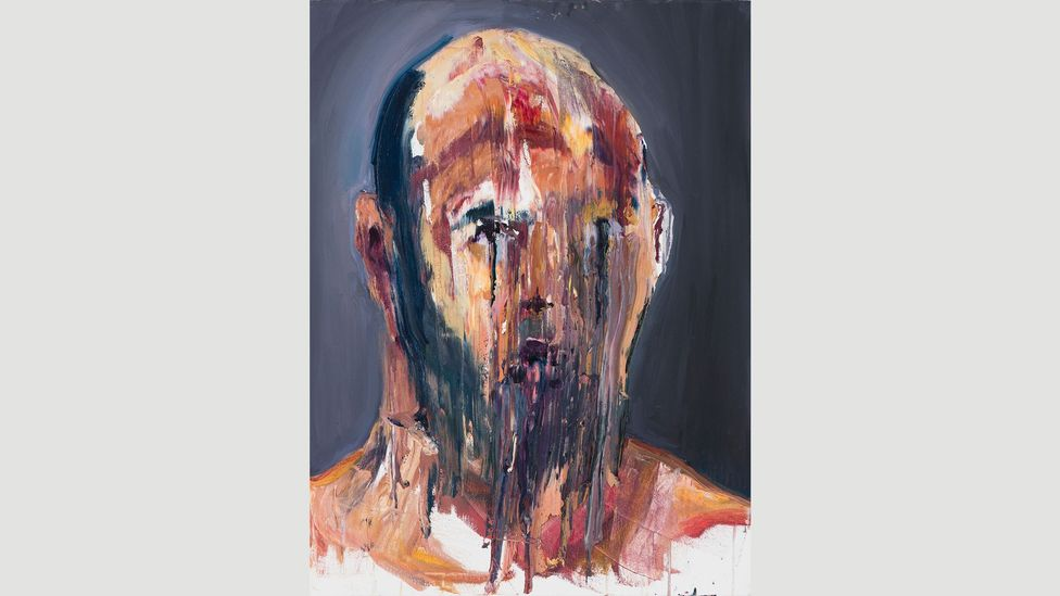 Sukumaran's work, largely consisting of self-portraits, gives a sense of the psychological toll of long-term imprisonment (Credit: Brenton McGauchie)