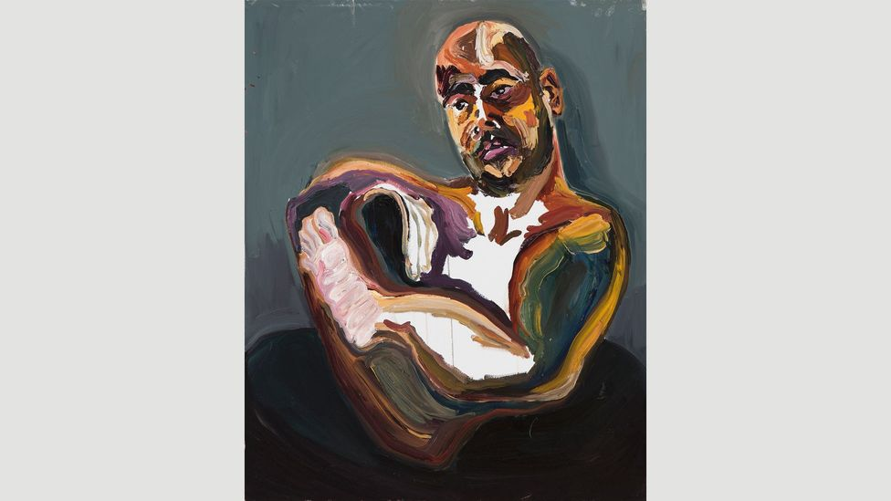 The last 72 hours of Sukumaran's life were a flurry of painting until he was executed by firing squad on 29 April 2015 (Credit: Brenton McGauchie)