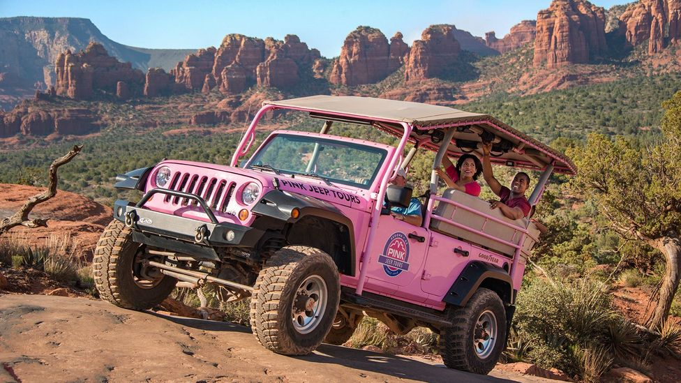 Pink Jeep found its friendly guides were the reason customers kept returning time and again (Credit: Pink Jeep Tours)