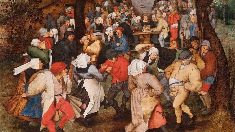 The Wedding Dance by Pieter Brueghel the Younger (Credit: Holburne Museum, Bath)