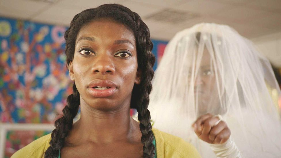 Michaela Coel's no-filter comedy Chewing Gum is set on a London council estate and follows a virgin's clumsy sexual awakening (Credit: Alamy)