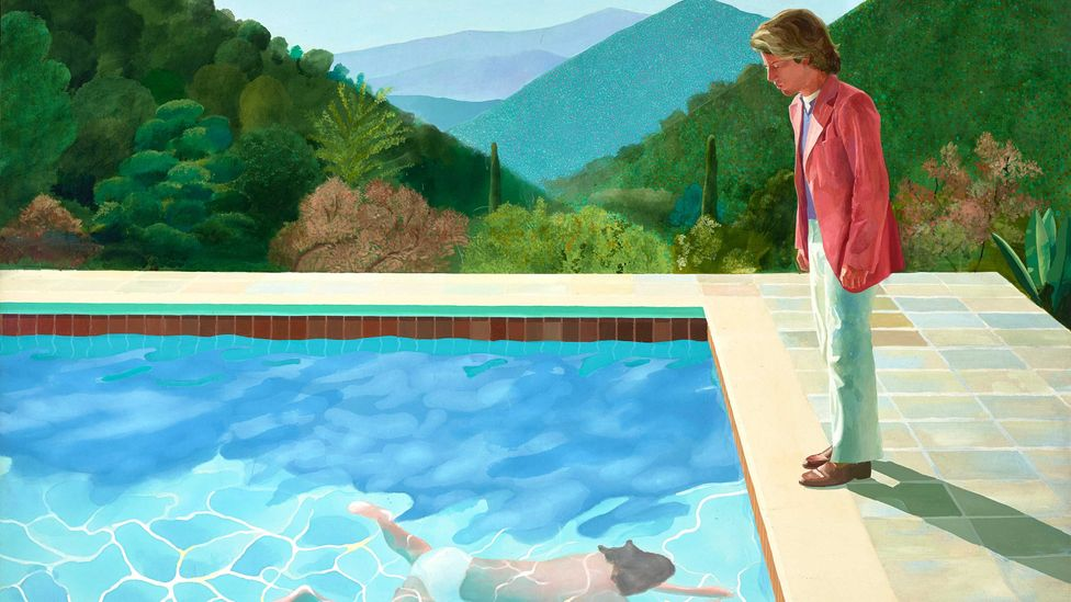 The Bewitching Allure Of Hockney S Swimming Pools Bbc Culture