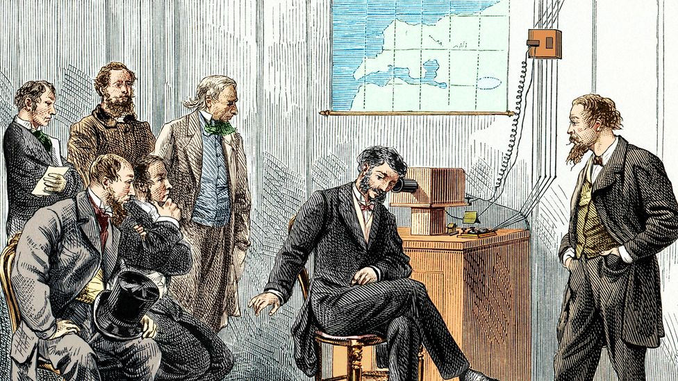 Telephone inventor Alexander Graham Bell also did important work on voice recognition (Credit: Science Photo Library)